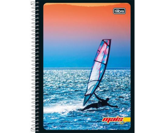 Caderno Universitário Espiral Flex 10 Mat.Tilibra