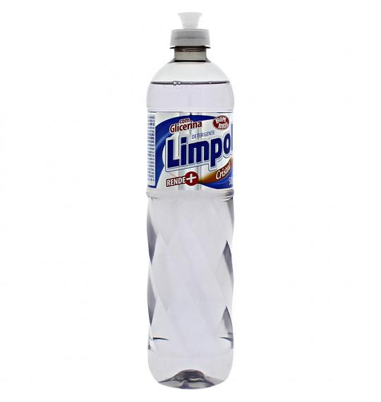 Detergente 500ml Cristal Limpol