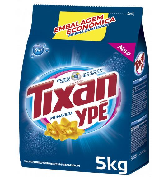 Lava Roupas em Pó 5kg Tixan Primavera Ypê