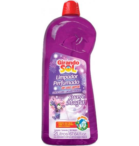Limpador Perfumado 2l Suave Magia Girando Sol