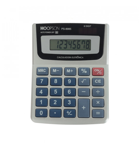 Calculadora de Mesa PS-8985 Hoopson