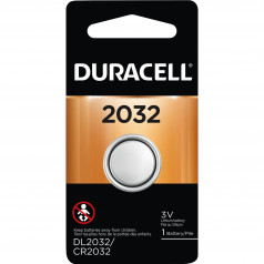 Bateria Botao de Litio CR2032 Duracell