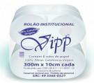 Papel Higiênico Rolão 300m c/8 Vipp Plus
