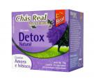 Chá Real Multiervas Detox Com Aroma Amora e Hibisco c/10
