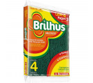 Esponja Multiuso Brilhus c/4