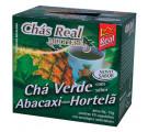 Chá Real Multiervas Chá Verde Sabor Abacaxi Com Hortelã c/10