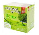 Chá Real Multiervas Detox Com Vegetais e Gengibre c/10