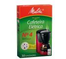 Filtro de Papel Nº4 Para Cafeteira Elétrica Melitta
